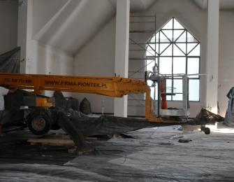 Remont nowego kościoła