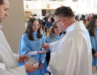 Przyjęcie do Dziewczęcej Służby Maryjnej