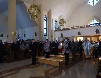 Roraty i poświęcenie figury św. Antoniego