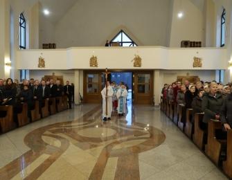 Uroczyste wprowadzenie relikwii św. Faustyny